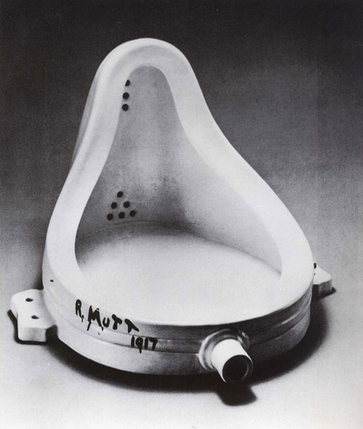 Duchamp La fontaine