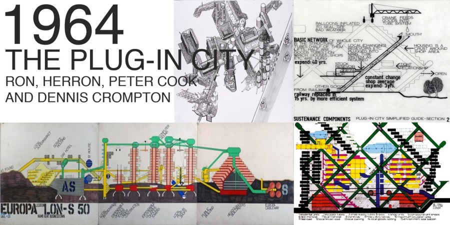 Archigram THE PLUG-IN CITY