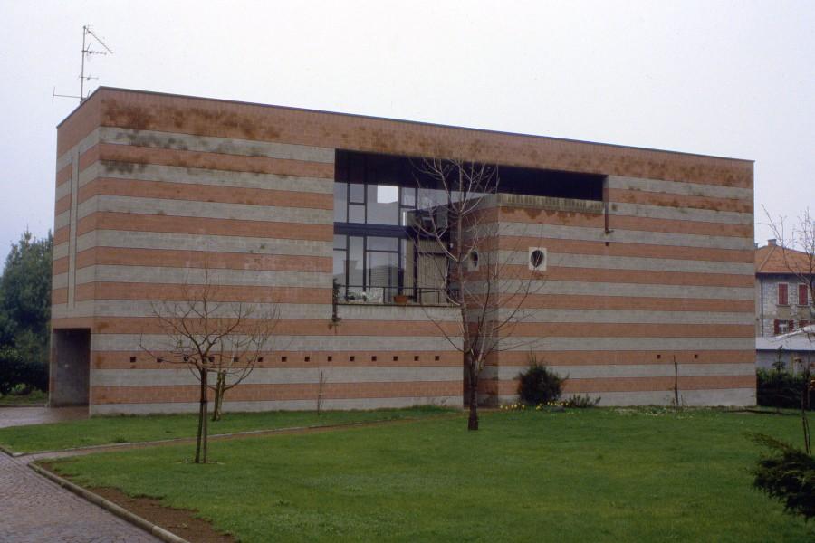 "Casa ""Pijama"" a Ligornetto (arch. Mario Botta 1975-76)"