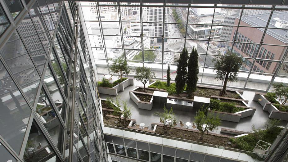 Öffentliche Führung durch den Commerzbank Tower